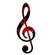 blood treble clef