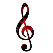 blood treble clef